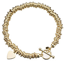 9ct yellow gold candy bracelet - Product number 8002355