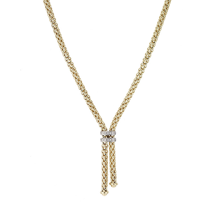 Fope Gioielli Maori 18ct gold necklet. - Product number 8004080