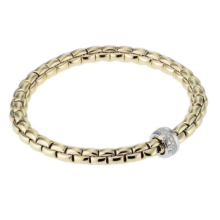Fope Gioielli Flex-It 18ct gold bracelet. - Product number 8004145