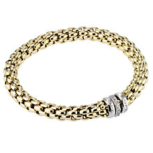 Fope Gioielli Flex-It 18ct gold bracelet. - Product number 8004196