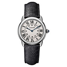 Cartier Ronde Solo Ladies' Stainless Steel Strap Watch - Product number 8013020