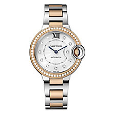 Cartier Ballon Bleu Ladies' Two Colour Bracelet Watch - Product number 8018693