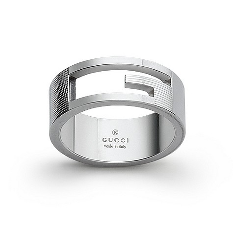 Gucci sterling silver thumb ring