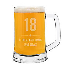 Big Age Glass Tankard - Product number 8020205