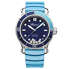 Chopard Happy Ocean Ladies' Stainless Steel Blue Strap Watch - Product number 8020264