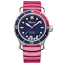 Chopards Happy Ocean Ladies' Stainless Steel Pink Watch - Product number 8020272