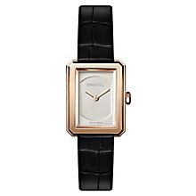 Chanel Boyfriend Ladies' 18ct Rose Gold Ceramic Strap Watch - Product number 8020396