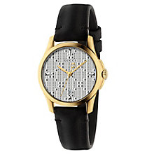 Gucci Ladies' Gold Plated Strap Watch - Product number 8021317