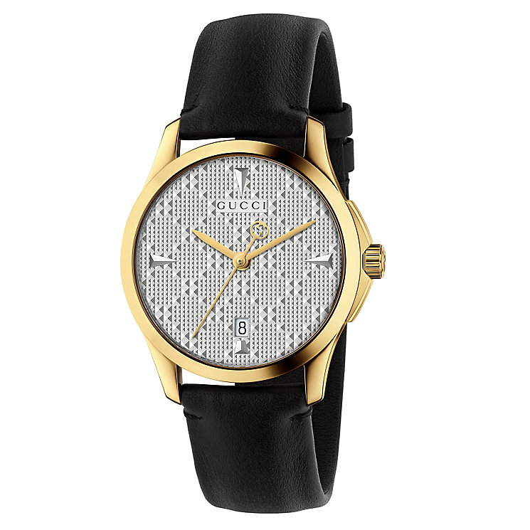 Gucci Ladies' Gold Plated Strap Watch - Product number 8021325