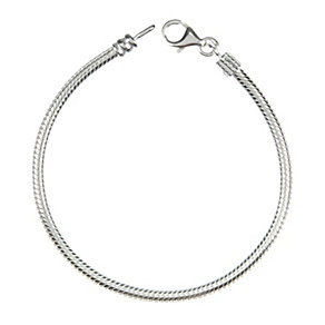 "Chamilia Silver Plain Bracelet 15cm or 6"" - Product number 8023786"