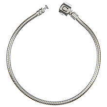 "Chamilia Silver Snap Bracelet 19cm or 7.5"" - Product number 8023824"