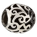 Chamilia - sterling silver filligree bead - Product number 8024103