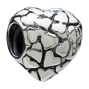 Chamilia - sterling silver heart of hearts bead - Product number 8024170