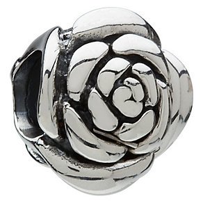 Chamilia - sterling silver rose bead - Product number 8024294