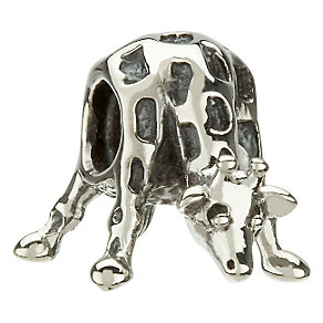 Chamilia - sterling silver giraffe bead - Product number 8024405