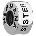 Chamilia - sterling silver sister bead - Product number 8024499