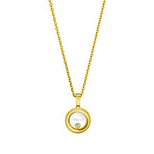 Chopard Happy Diamonds Icons 18ct Yellow Gold Pedant - Product number 8031231
