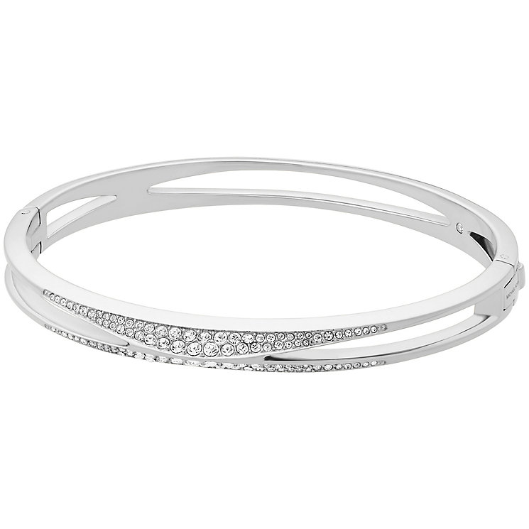 Michael Kors Beyond Brilliant Stainless Steel Bangle - Product number 8031797