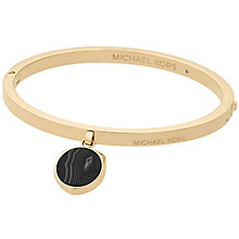 Michael Kors Cool & Classic Yellow Gold-Tone Bangle - Product number 8031819