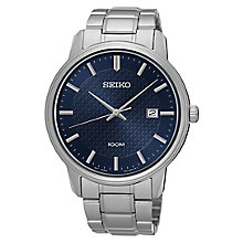 Seiko Men's Stainless Steel Bracelet Watch - Product number 8032467