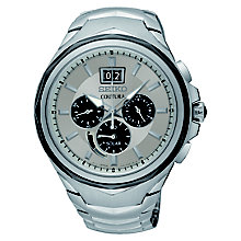 Seiko Men's Stainless Steel Bracelet Chronograph Watch - Product number 8032505