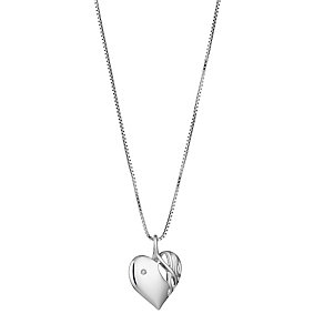 Hot Diamond Sterling Silver Diamond Pendant - Product number 8041202