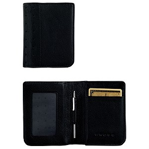 Cross black pebbled leather credit card holder - Product number 8042691