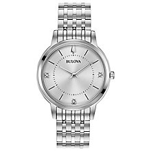 Bulova Ladies' Stainless Steel Bracelet Watch - Product number 8043507
