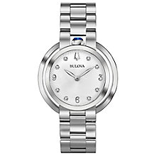 Bulova Ladies' Stainless Steel Bracelet Watch - Product number 8043515