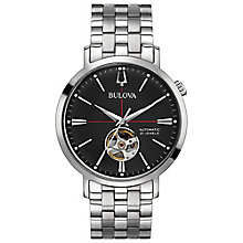 Bulova Men's Automatic Stainless Steel Bracelet Watch - Product number 8043620