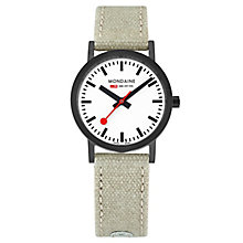 Mondaine Ladies' Simply Elegant Fabric Strap Watch - Product number 8043752