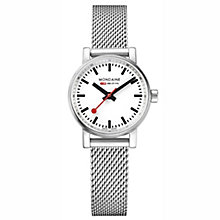 Mondaine Ladies' Stainless Steel Mesh Strap Watch - Product number 8043841