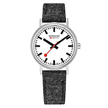 Mondaine Simply Elegant Fabric Strap Watch - Product number 8043922