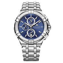 Maurice Lacroix Aikon Men's Stainless Steel Blue Watch - Product number 8045917