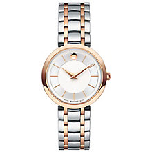 Movado 1881 Quartz Ladies' 2 Colour Bracelet Watch - Product number 8046026