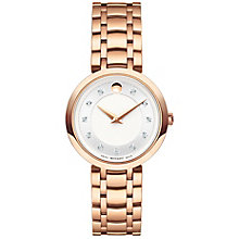 Movado 1881 Quartz Ladies' Rose Gold-Plated Bracelet Watch - Product number 8046034
