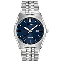 Citizen Men's Eco Drive Corso Stainless Steel Watch - Product number 8046247