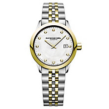 Raymond Weil Freelancer Ladies' Two Colour Diamond Watch - Product number 8047006