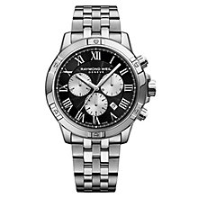 Raymond Weil Tango Men's Black Chronograph Bracelet Watch - Product number 8047065