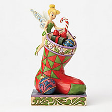 Disney Traditions Tinkerbell Stocking Figurine - Product number 8048622
