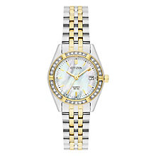 Citizen Ladies' Two Tone Steel Bracelet Watch RRP £149 - Product number 8048746