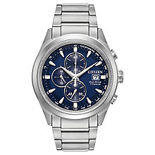 Citizen Eco-Drive Men's Titanium Bracelet Watch - Product number 8048886
