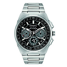 Citizen Eco-Drive Men's Stainless Steel Bracelet Watch - Product number 8048916