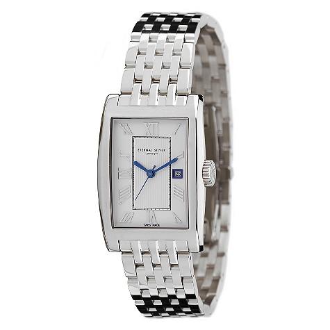 Eternal Silver men's silver dial bracelet watch - RT3802GB