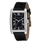 Eternal Silver men's black strap watch - Product number 8052115