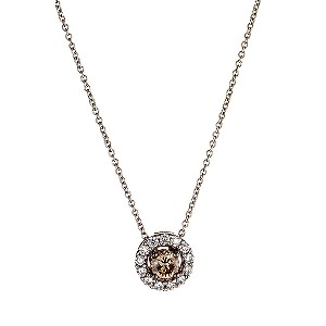 LeVian 14CT Gold Half Carat Chocolate Diamond Pendant - Product number 8052263