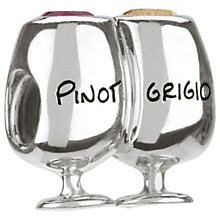 Chamilia - sterling silver Vino bead - Product number 8054614