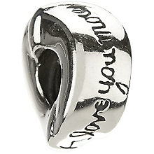 Chamilia - sterling silver I love you bead - Product number 8054649