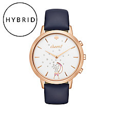 Kate Spade Ladies' Rose Gold Tone Hybrid Smart Watch - Product number 8055084