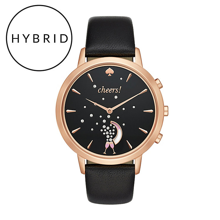 Kate Spade Ladies' Rose Gold Tone Strap Hybrid Smartwatch - Product number 8055092